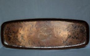 フランス製銅のカフェトレイ(?) 19世紀