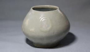 李朝白磁水盂(酒盃可) 李朝時代後期