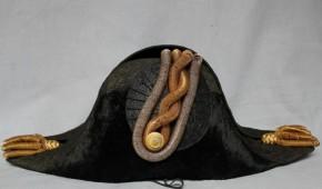 大日本帝國海軍尉官正帽,正肩章 革鞄入り