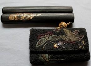 相良煙草入れ   江戸時代    盗まれました