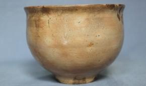 李朝御本茶碗(玉子手)    李朝時代中期