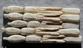 李朝石製人形 5体  李朝時代後期