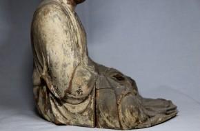 木彫漆箔阿弥陀如来坐像(1-1)   鎌倉時代