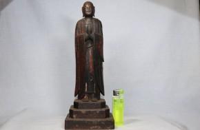 木彫地蔵菩薩立像   桃山~江戸時代初期
