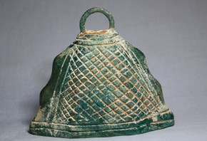 中国釣鐘形ガラス(呼び鈴?)  唐時代