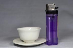 李朝白磁碗・皿(明器)   李朝時代初期