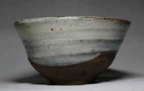 上野焼斑釉大盃   江戸時代初期~前期