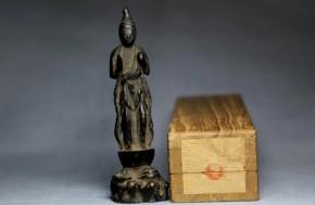 古銅小仏観音菩薩立像   南北朝~室町時代