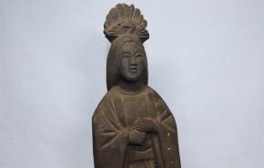 女性神像    江戸時代