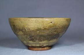 青唐津天目形小服茶碗(1)  桃山~江戸時代初期  伝世品か