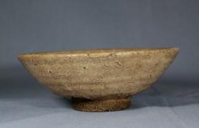 萩焼平茶碗(2)   江戸時代後期~幕末