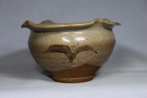 絵唐津柿の花向付(見立て茶碗)1   桃山時代  伝世品