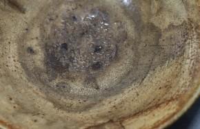 李朝刷毛目平茶碗(1-1)   李朝時代前期(15~16世紀)  伝世品