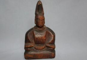 木彫男神像(神主神像) 室町~桃山時代