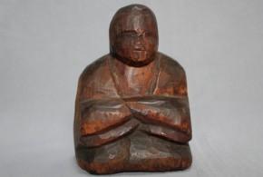 木彫女神像(尼僧神像) 室町~桃山時代