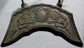 銅製磬 江戸時代