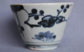 古伊万里蕎麦猪口(11) 江戸時代中期 初期手
