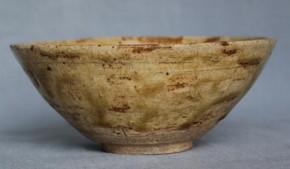 瀬戸灰釉茶碗 江戸時代中期