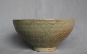 高麗青磁蓮弁文茶碗 高麗時代