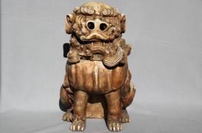 瀬戸獅子大香炉 江戸時代中期