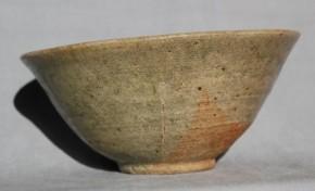 古唐津奥高麗茶碗(掘りの手) 桃山~江戸時代初期