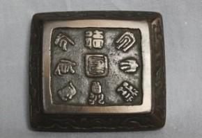 古銅香合 清朝時代