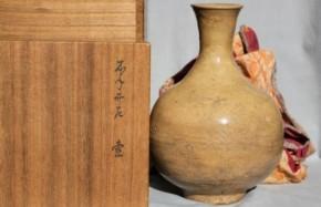 李朝井戸釉徳利 李朝時代中期~後期