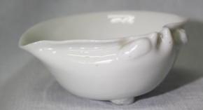 中国白磁蛤形水盂 清朝時代