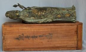 銅製鍍金観音菩薩立像(1)  江戸時代中期
