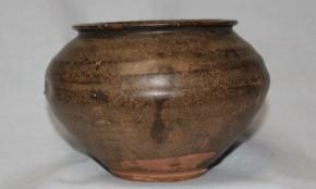 黒高麗塩笥茶碗(1) 李朝時代後期