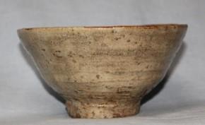 古萩井戸形茶碗 江戸時代中期