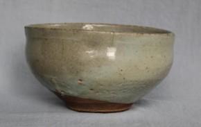 李朝白磁茶碗 李朝時代後期