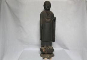木彫地蔵菩薩立像 平安末~鎌倉時代