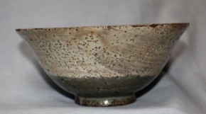 李朝御本刷毛目茶碗   17世紀
