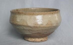 李朝会寧斑釉茶碗 李朝時代後期