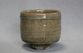 李朝会寧筒茶碗 李朝時代中期 和館茶碗窯