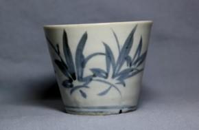 初期手枝楓葉文蕎麦猪口(86) 江戸時代中期