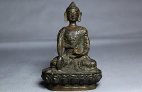 中国薬師如来坐像   清朝時代(17世紀)