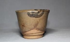 絵唐津立酒盃(3)   江戸時代中期~後期