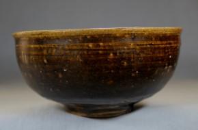 黒高麗茶碗   李朝時代初期   銘「不言」