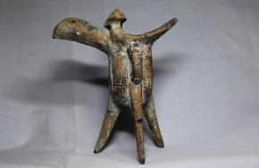 青銅製雷文爵(しゃく)   中国殷~西周時代