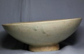 李朝堅手平茶碗   李朝時代後期  18世紀