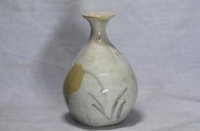 初期伊万里草図小徳利   江戸時代初期  本物保証