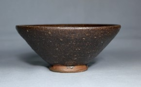 東南アジア黒褐釉茶碗   18~19世紀