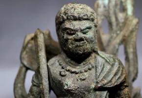 銅造不動明王立像(火中仏の1)   鎌倉時代