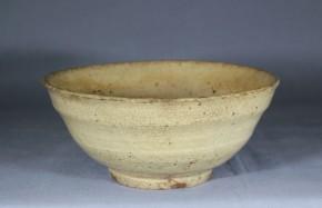 雨漏り堅手茶碗(井戸脇)1  李朝時代前期