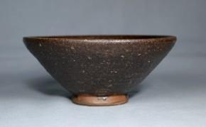 南蛮黒褐釉茶碗   18~19世紀