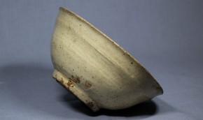 雨漏り堅手茶碗(井戸脇)1-1  李朝時代前期