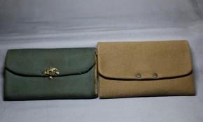 皮製財布(1) 2個   江戸~明治時代
