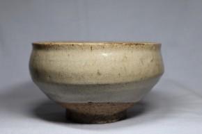 李朝会寧斑釉茶碗(鉢)  李朝時代後期